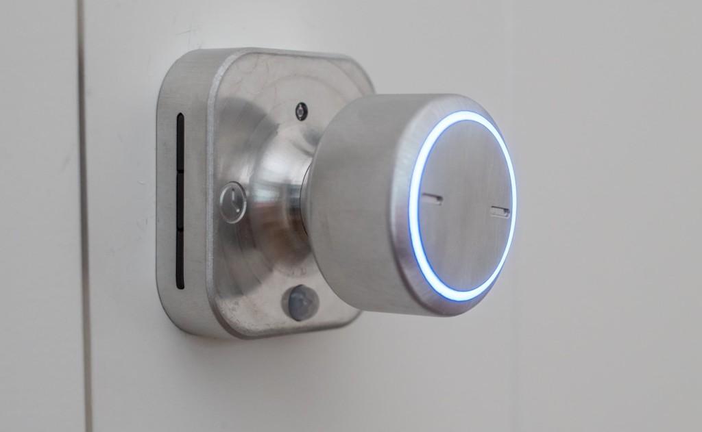 Bright Lock doorknob side profile