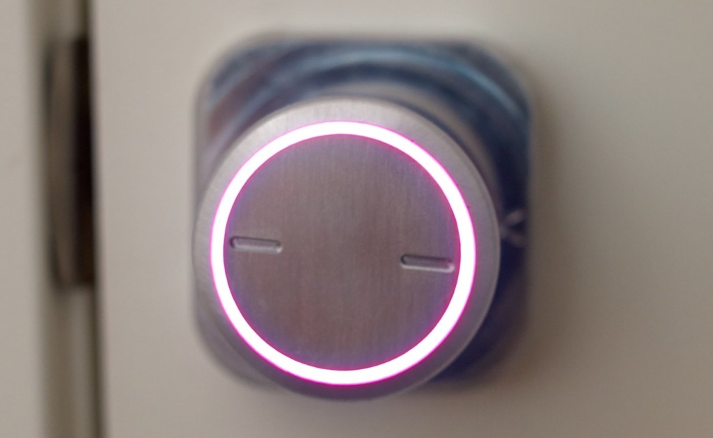 Bright Lock purple light front view