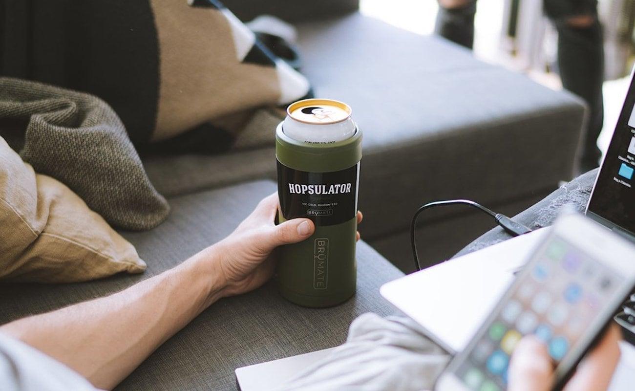 BrüMate Hopsulator Juggernaut Beer Sleeve Cooler fits cans up to 25 ounces