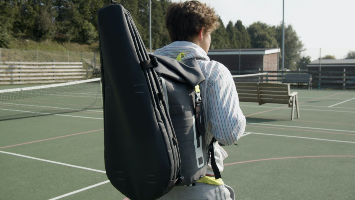 Cancha Bag Modular Tennis Backpack looks professional both on and off the court