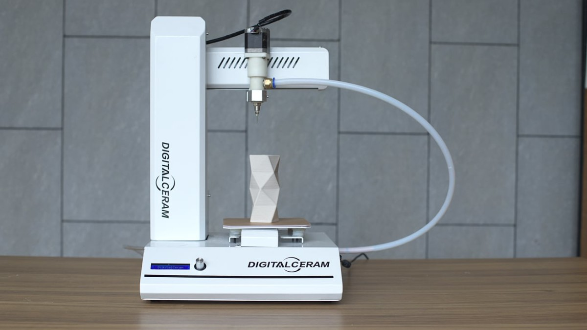 Digitalceram Desktop Ceramic 3D Printer delivers impressive designs without sintering or glazing