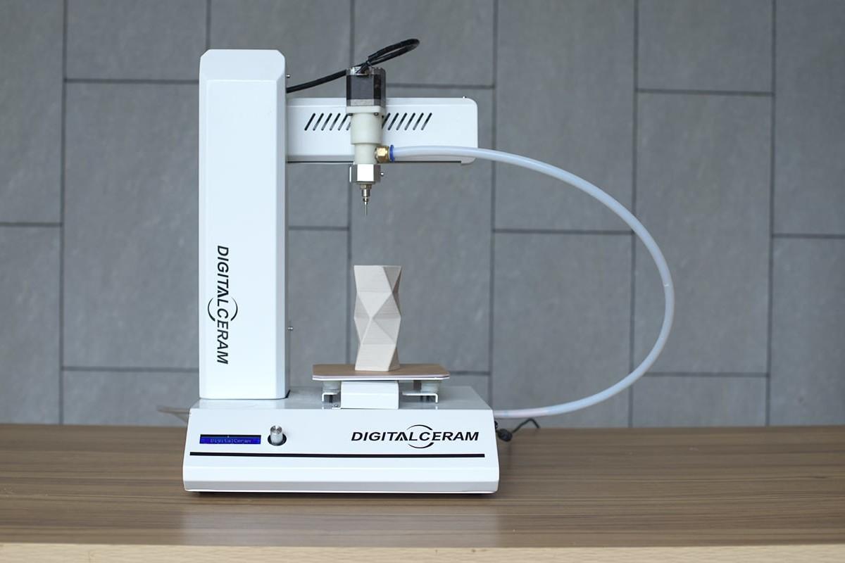 Digitalceram Desktop Ceramic 3D Printer delivers impressive designs without sintering or glazing