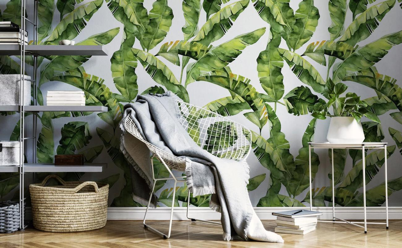 Eazywallz Custom & Removable Wallpaper lets you decorate and redecorate how you want