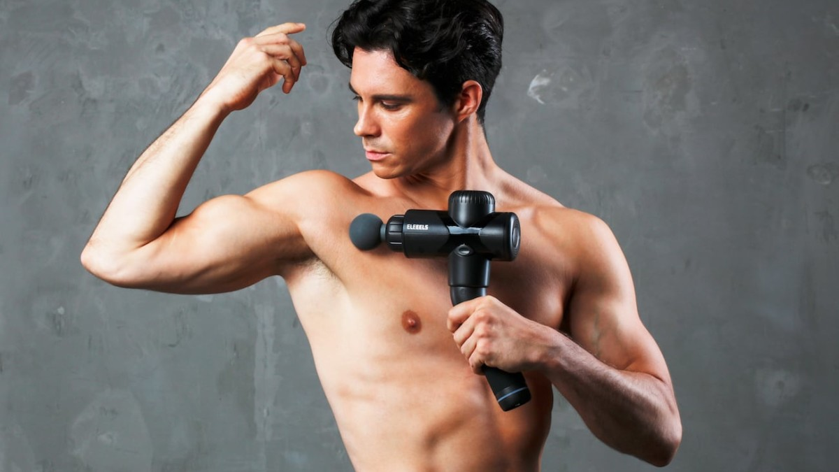 Eleeels X1T 360° Percussive Massage Gun will help your muscles recover