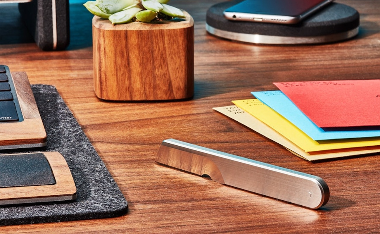 Grovemade Task Knife Desk Cutting Tool takes care of opening boxes, letters, and more