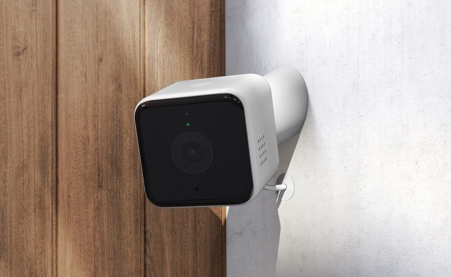 Hive View Outdoor Security Camera notifies you of any unusual activity