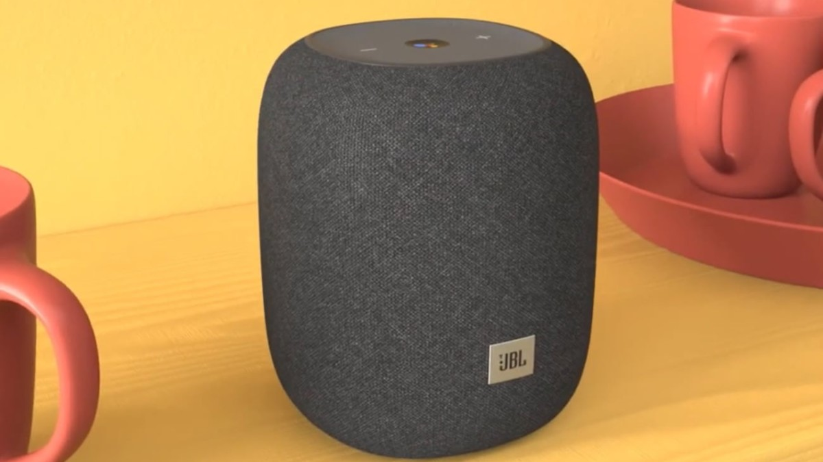 JBL Link Music Wi-Fi Speaker pumps out sound 360 degrees around it