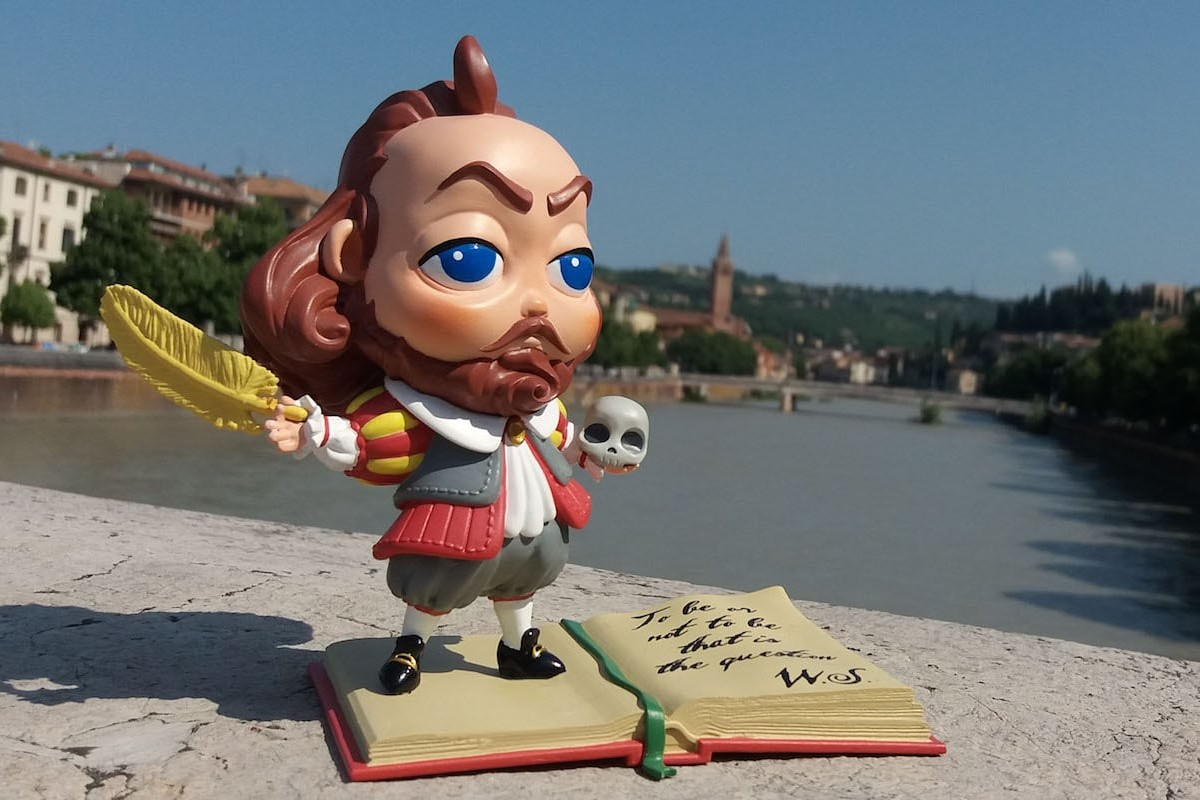 Jackiz Chubby William Shakespeare 3D Figure is a delightful homage to literature