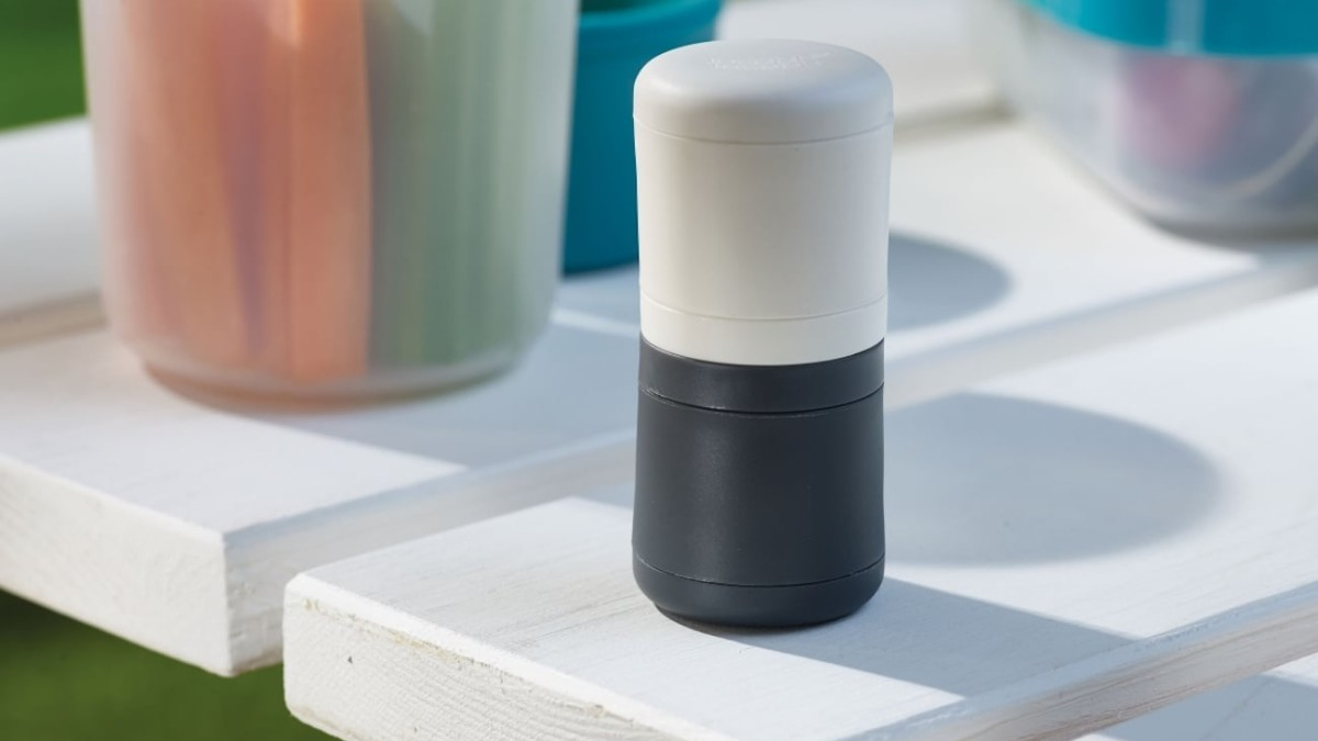 JosephJoseph GoEat Travel Salt & Pepper Shakers stick together with magnets