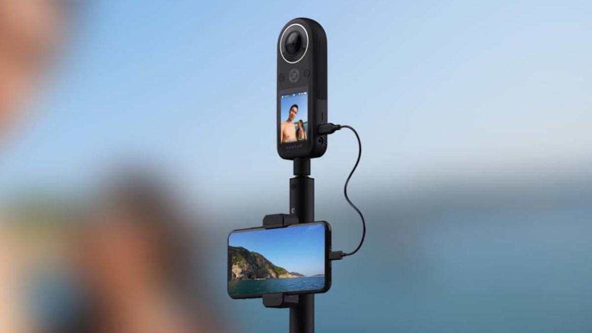 Kandao QooCam 8K Pocket 360 Camera packs high-resolution in a compact body