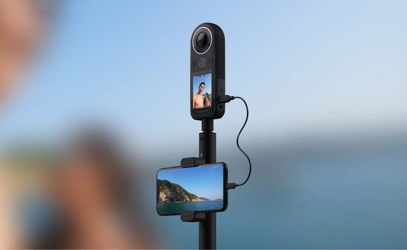 Kandao QooCam 8K Pocket 360 Camera packs high-resolution in a compact body