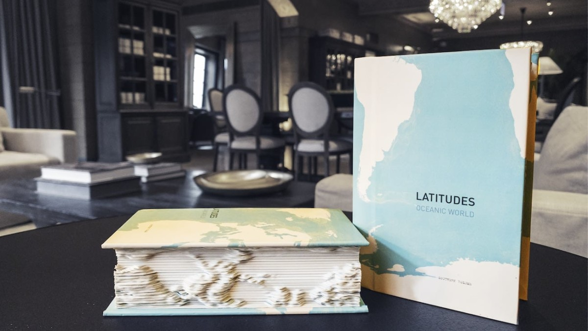 Latitudes Oceanic World Tactile 3D Book puts the ocean in perspective