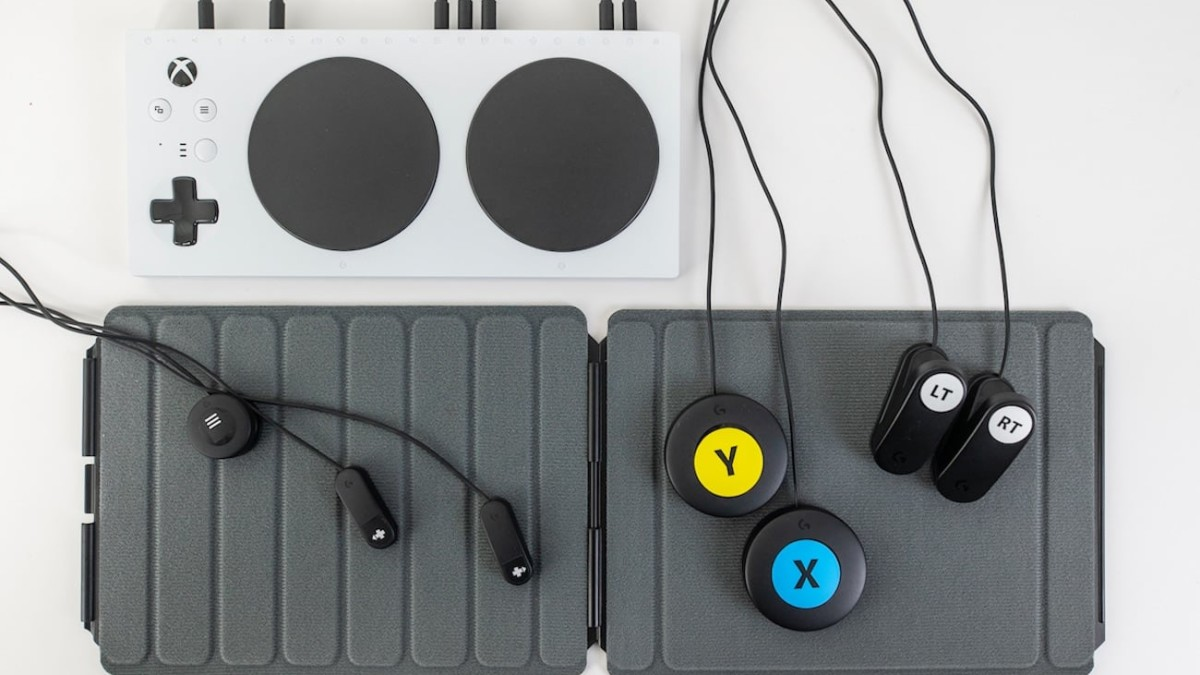 Logitech G Adaptive Gaming Kit Customizable Controller lets anyone play with the Xbox Adaptive Controller