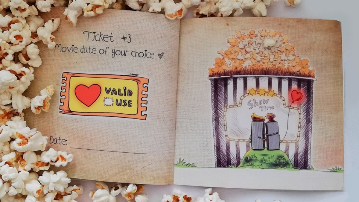 """Love Tickets by Story No. 9 Personalized Books give you ways to say """"I love you"""""""