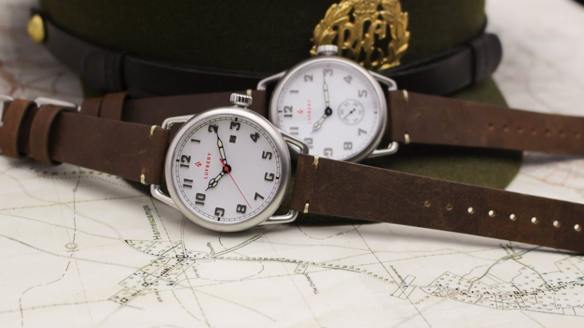 This WW1-inspired trench watch is a collector's dream