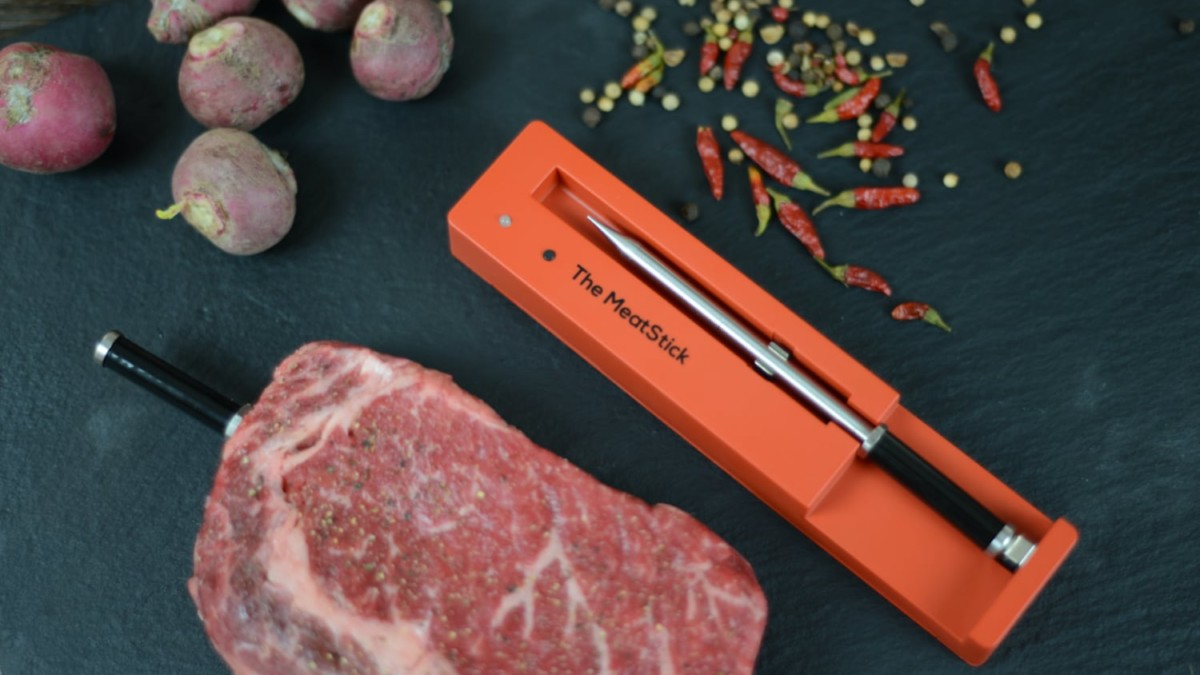 The MeatStick—a True & Smart Wireless Meat Thermometer that removes the guesswork