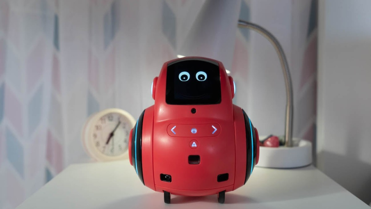 Miko 2 Advanced AI Kids Robot helps kids learn through conversation