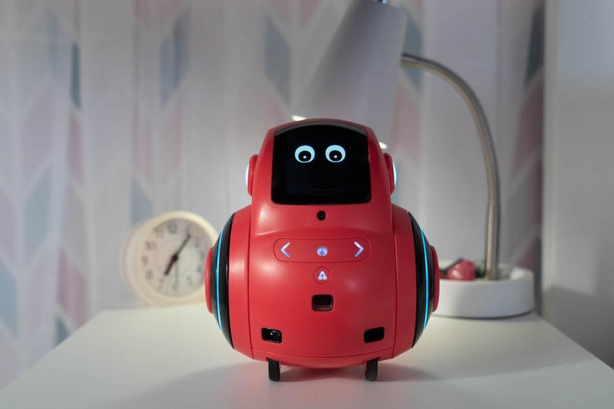 Miko 2 Advanced AI Kids Robot helps kids learn through conversation