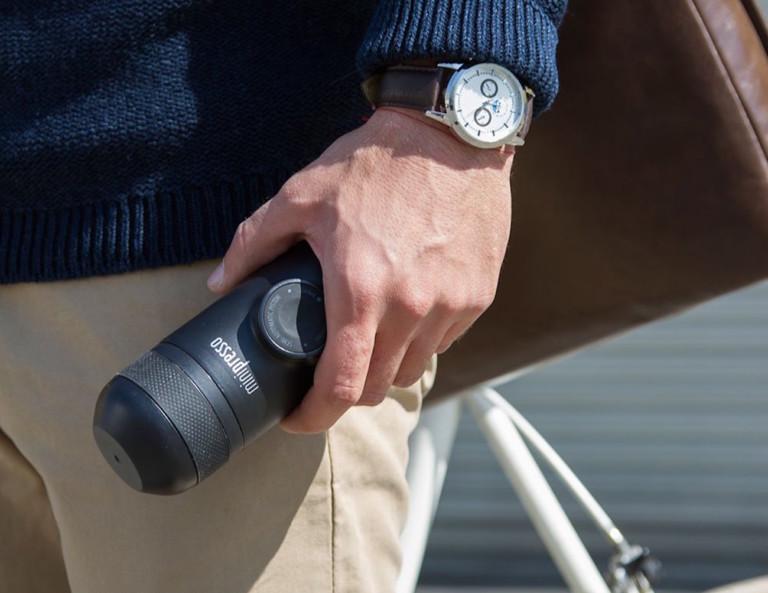 MiniPresso Handheld Espresso Maker by Wacaco Company