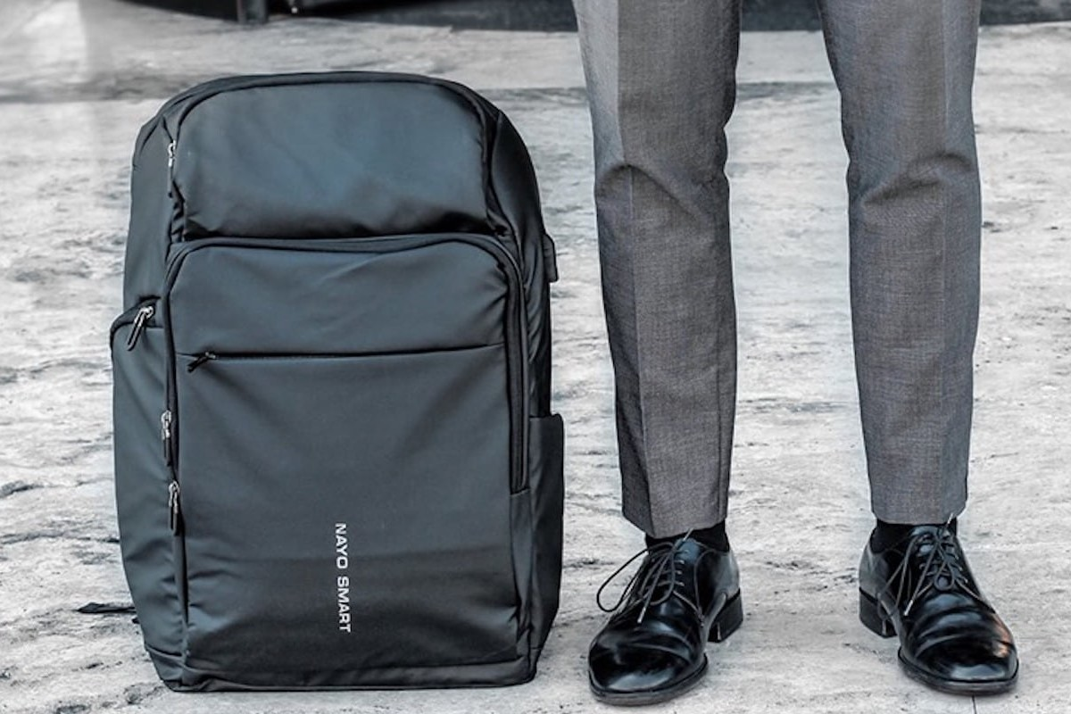 NayoSmart Almighty Large-Capacity Backpack holds enough for a 5-day trip