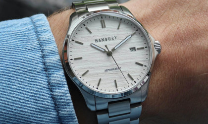 Handcrafted Automatic Watch by Hanbury