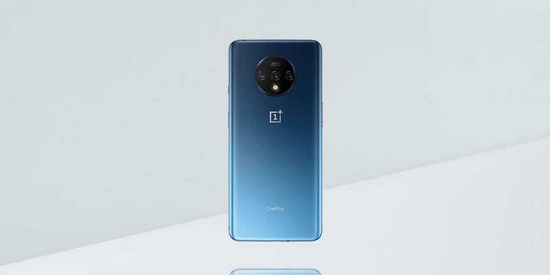 OnePlus 7T Narrow-Display Smartphone with Android 10