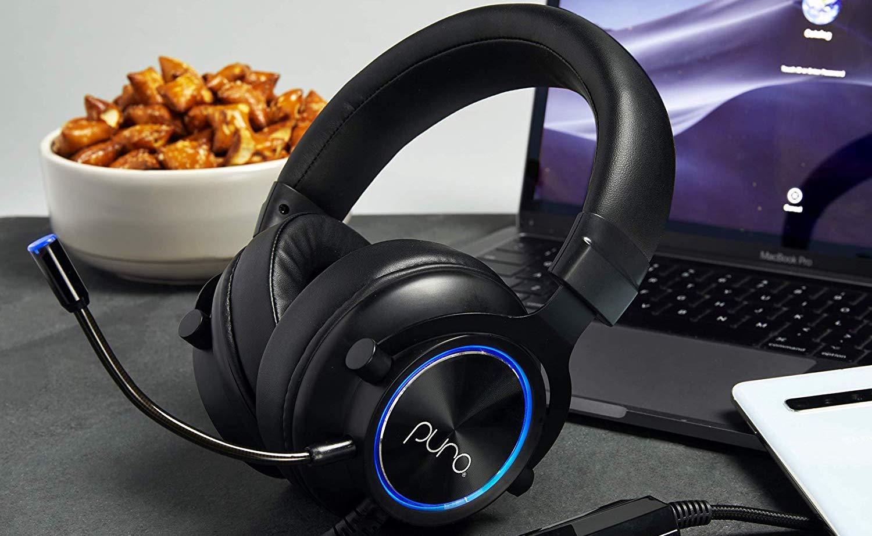PuroGamer Volume-Limited Gaming Headphones don't go over 85 decibels