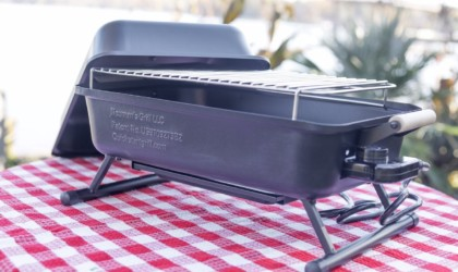 Quick Start Grill Automatically Lighting Charcoal BBQ