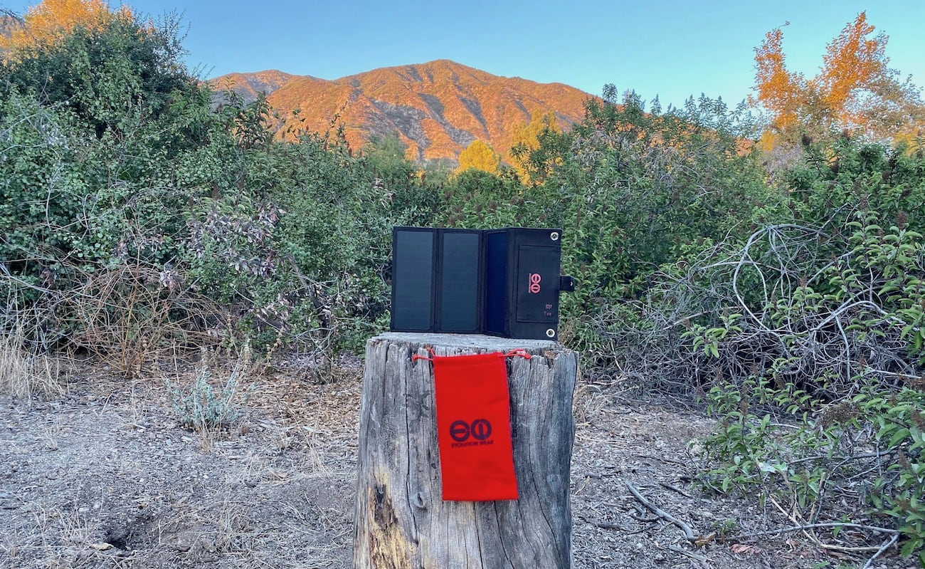 Rapid Sol Gen 2 Fast Solar Charger can handle the elements