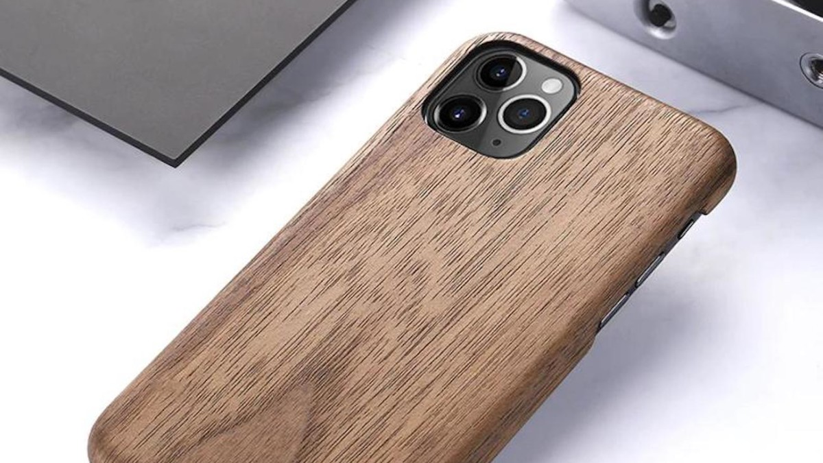 Real Wood iPhone 11 Pro Shell adds a natural touch to your style