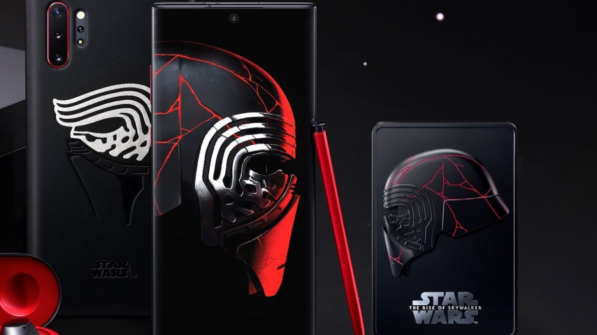 Samsung Galaxy Note10+ Star Wars Edition Smartphone brings two galaxies together