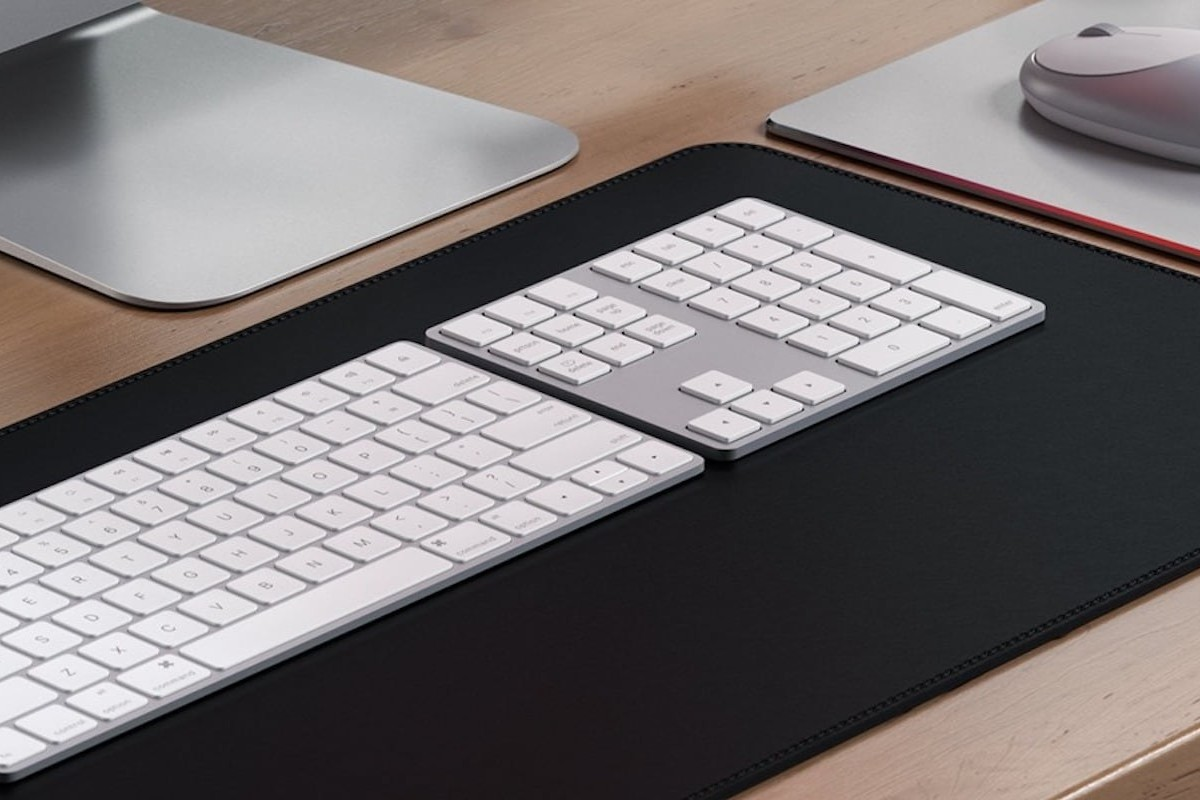 Satechi Bluetooth Extended Keypad Sleek Keyboard provides a numpad, shortcut keys, and more