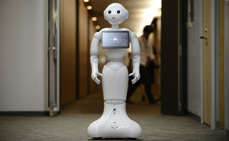 SoftBank Robotics Pepper Humanoid Robot can recognize faces and emotions