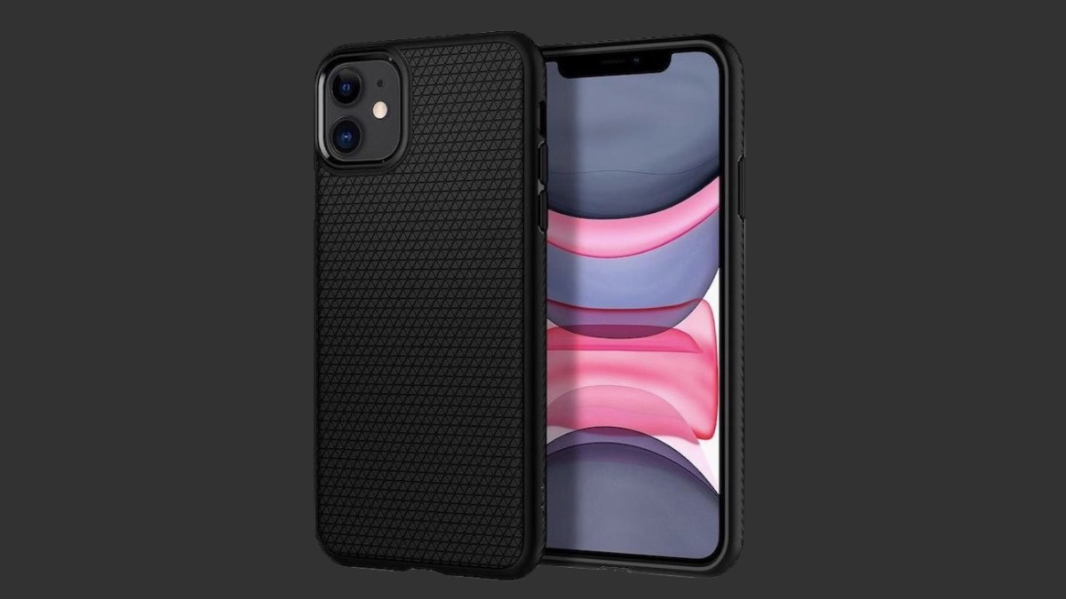 Spigen Liquid Air Slim iPhone 11 Case has an easy-grip surface so you can hold it any way