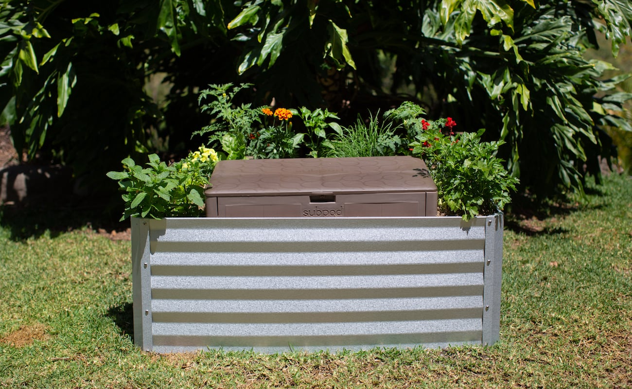Subpod In-Garden Compost System makes it easy to help the planet