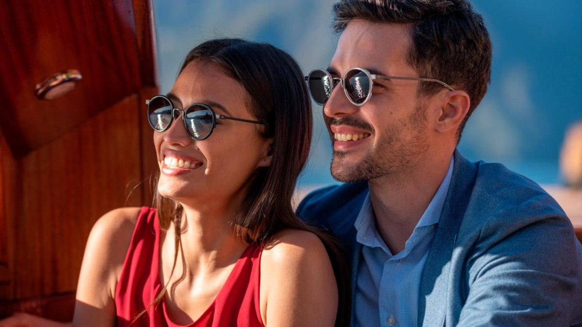 TYTUS COMBO Titanium Self-Protecting Sunglasses are built to last and resist scratches