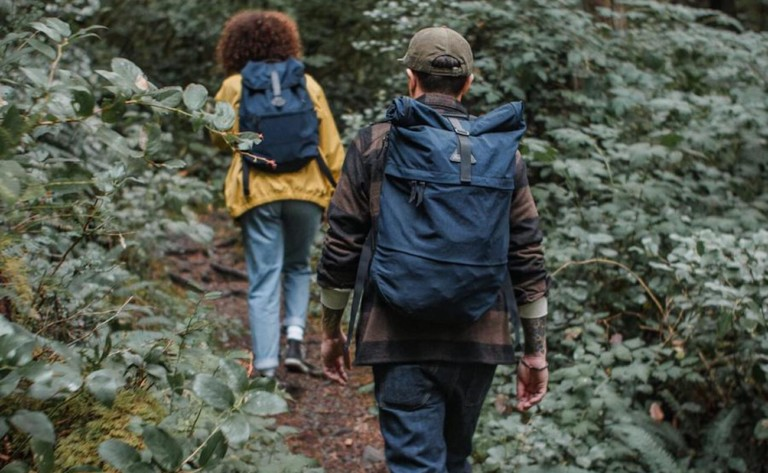 Tanner Goods Koru Rucksack Lightweight Backpack uses military-grade materials