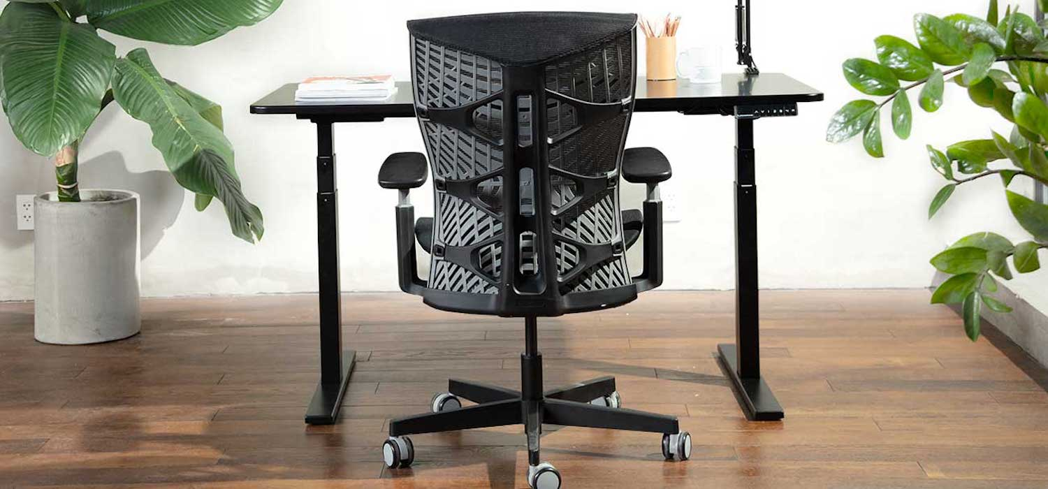 The Kinn Chair is exactly what you want in a range of motion office chair
