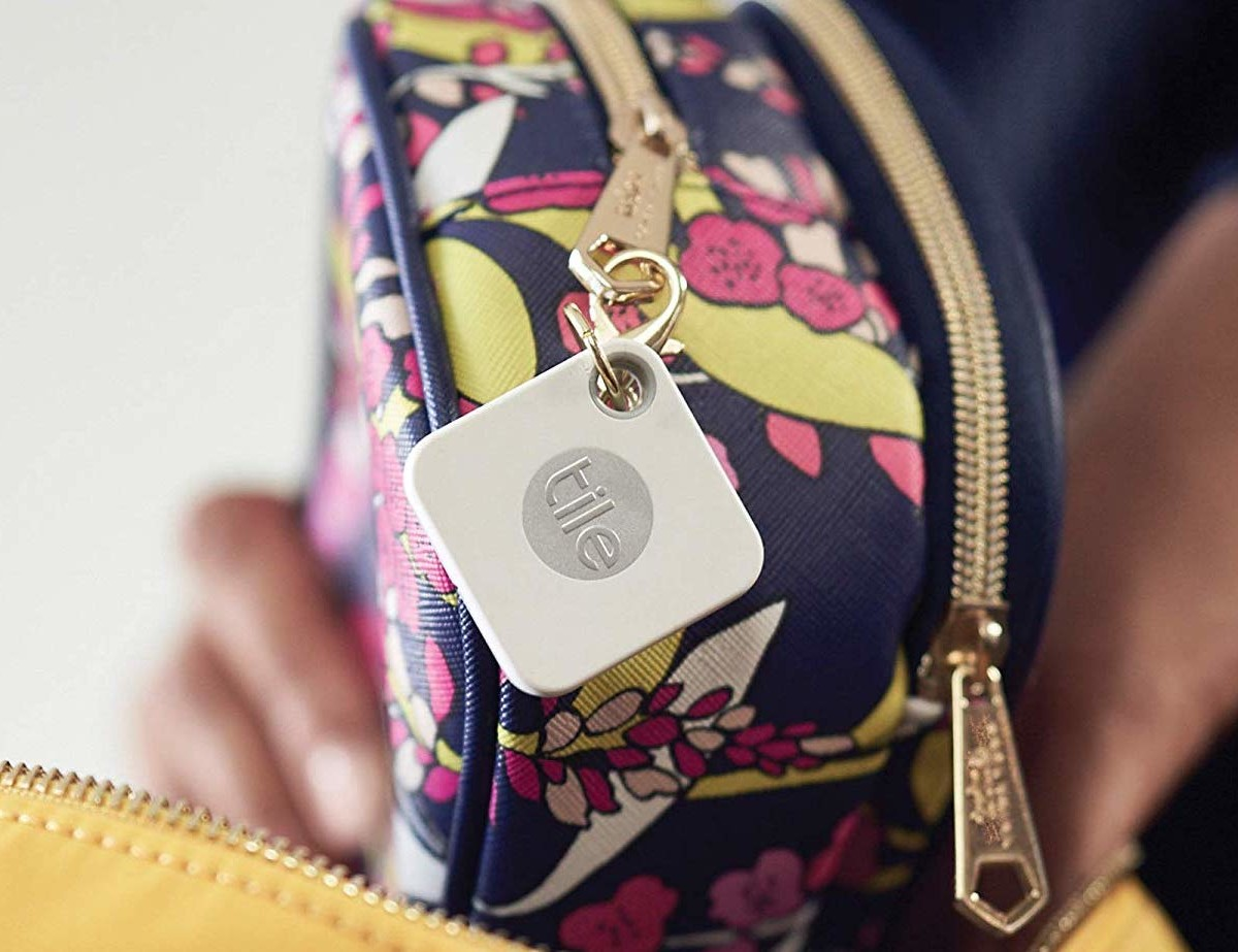 Tile Mate Versatile Finder has a 200′ range for keeping track of your things