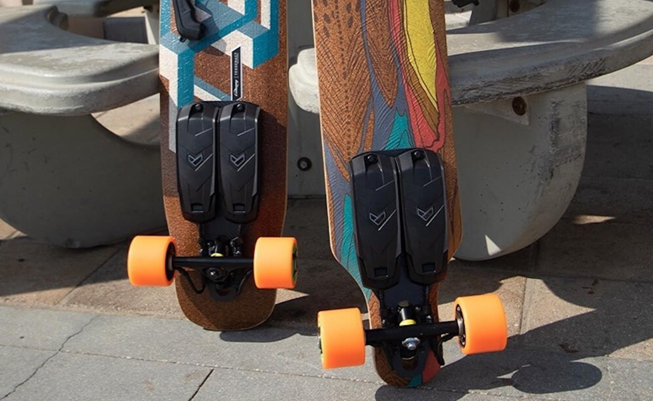 Unlimited Cruiser Electric Skateboard Kit travels at up to 23 miles per hour