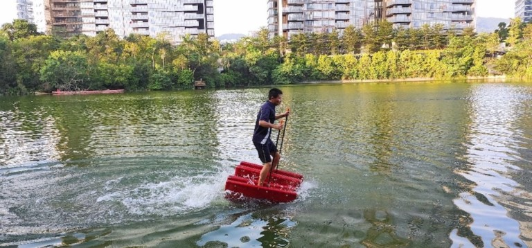 Walk on water with this awesome beach toy