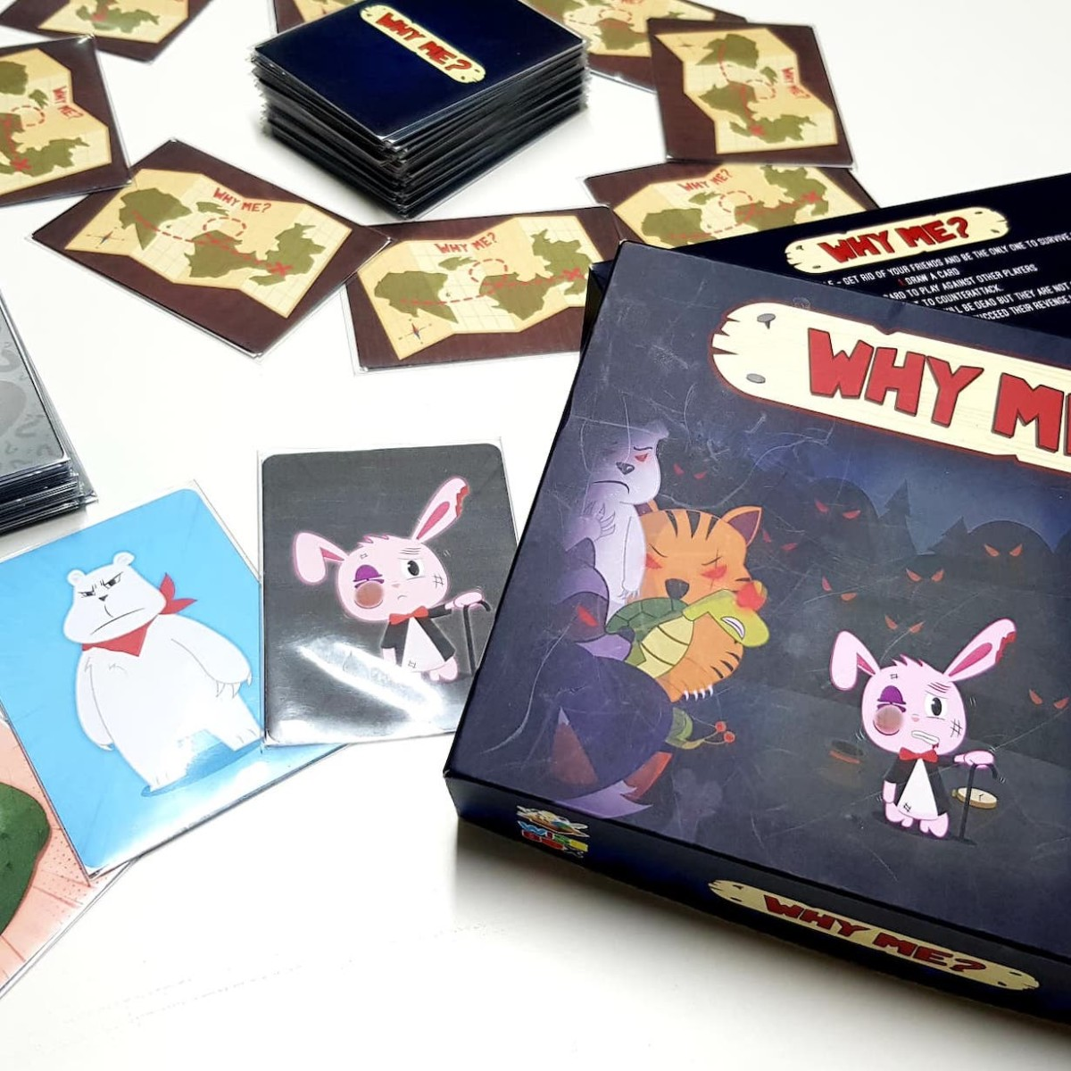 Why Me? Secret Identity Party Game makes you wonder who you can trust