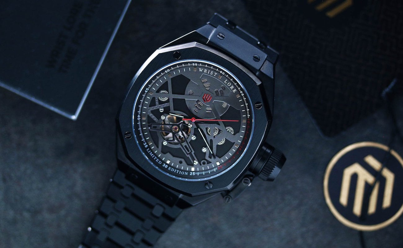 Wrist Lore Blackbird LE Automatic Pilot Watch honors the SR-71 Blackbird Spyplane