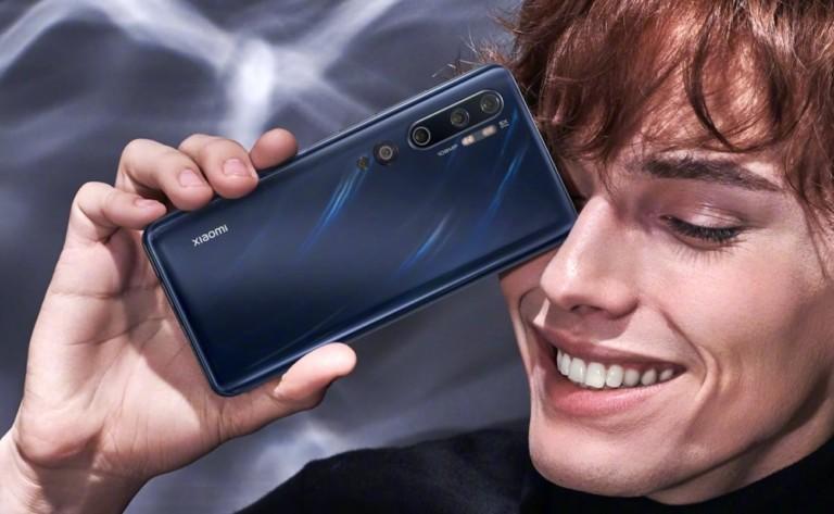 Xiaomi Mi Note 10 108-Megapixel Smartphone has a total of five rear cameras