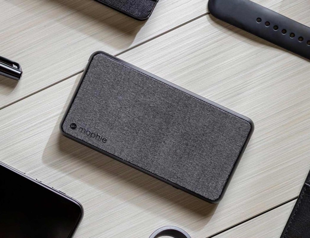 mophie powerstation plus Fabric Power Bank