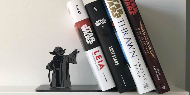 Hallmark Star Wars Yoda Metal Bookend