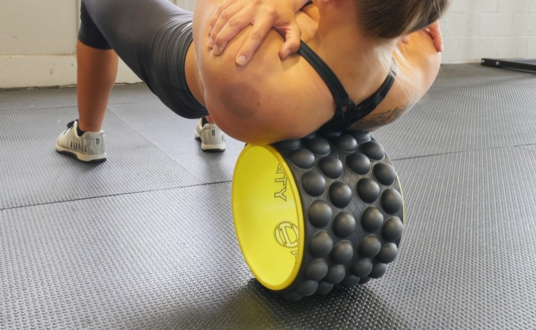 Acumobility The Ultimate Back Roller Deep Tissue Massager helps keep your spine healthy