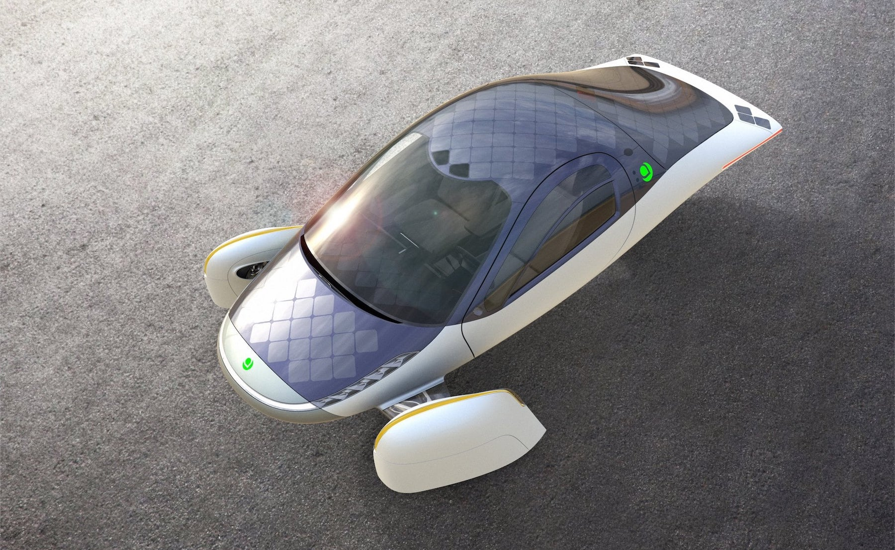 Aptera Solar-Charging Electric Vehicle travels 1,000 miles on a single charge