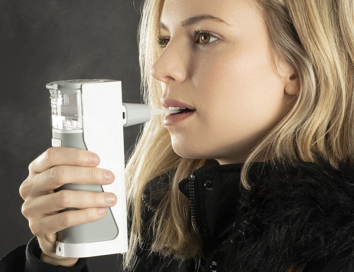 Avya by Aura Medical Portable Steam Inhaler helps you breathe better wherever you are
