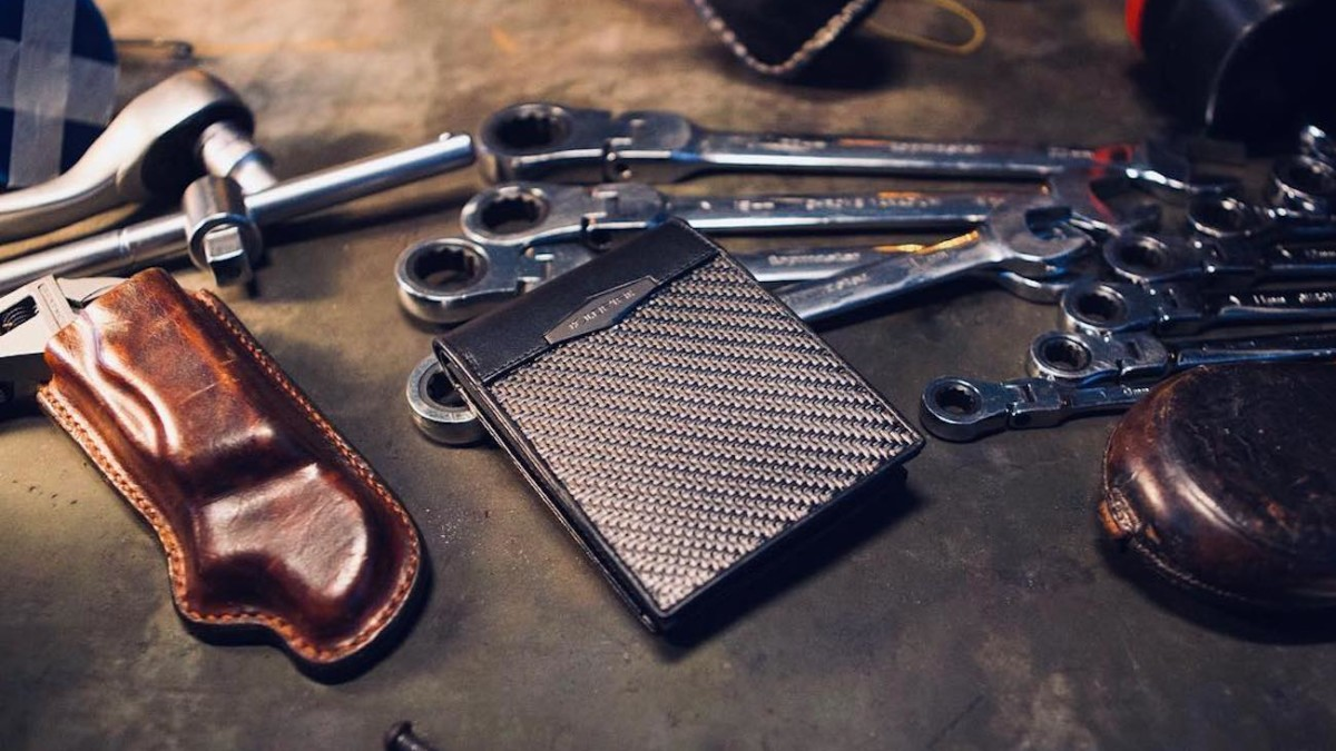 COLDFIRE Tactical Carbon Fiber Durable Wallets provide armor for your cash and cards